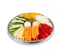 מגש ירקות עם מטבל-דיפ
