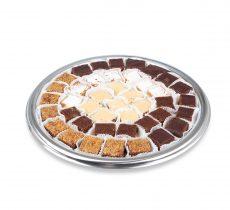 מגש ריבועי עוגות