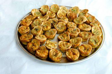 Mini-tray-of-quiches